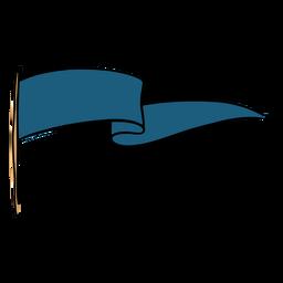 Galhardete azul