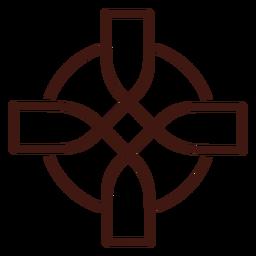 Nudo de cruz celta