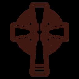 Trazo cruzado celta