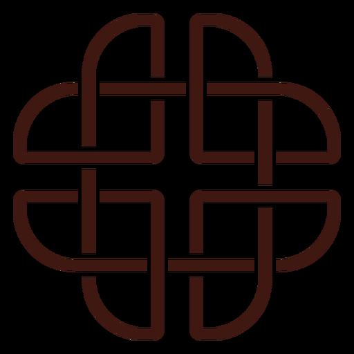 Celtic dara knot