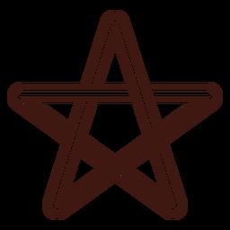 Celtic star stroke