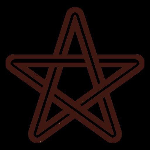 Golpe de estrella celta Transparent PNG