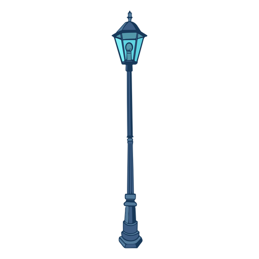 Classical street lamp vintage