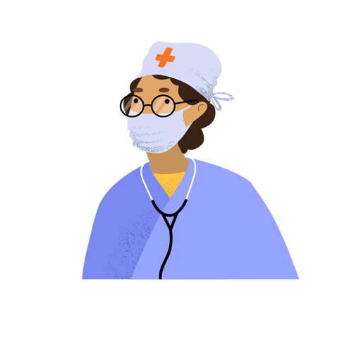 Coronavirus doctor character Transparent PNG