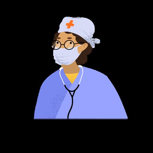 Coronavirus doctor character
