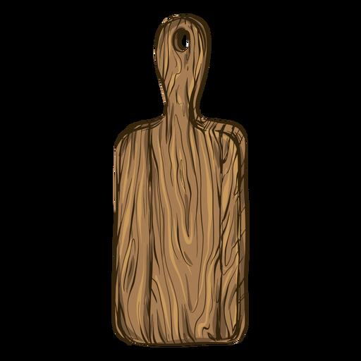 Ilustración de tabla de cortar