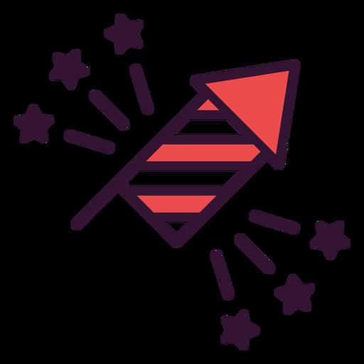 Fireworks united states icon