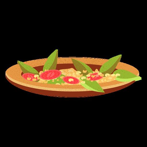 Ful medames arabic food illustration Transparent PNG