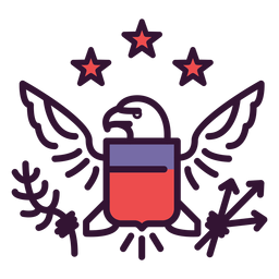 Großes Siegel der USA-Ikone