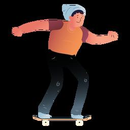 Personaje de patinaje