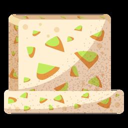 Halawa arabic food illustration