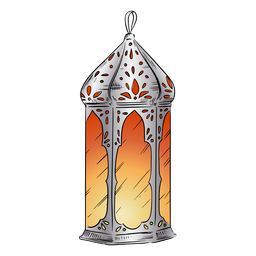 Illustration arabic lantern
