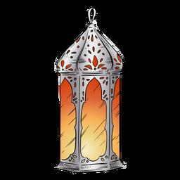 Illustration arabische Laterne