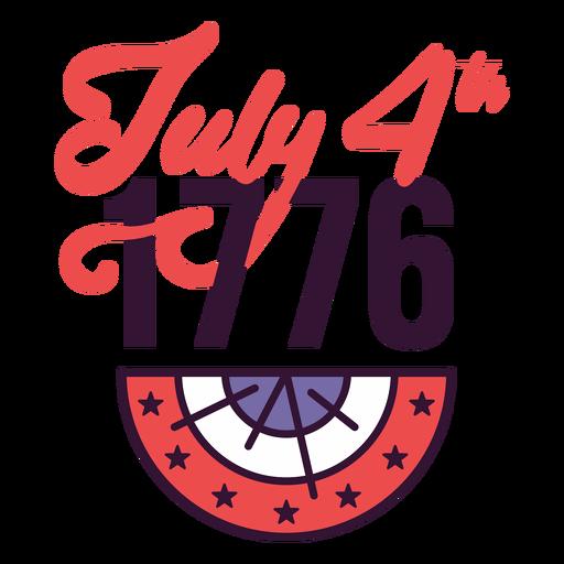 Insignia del 4 de julio