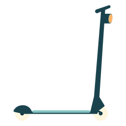 Kick scooter flat