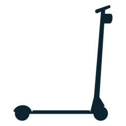 Kick scooter silhouette