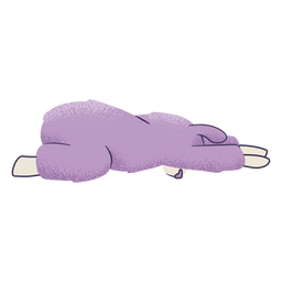 Llama niño pose yoga