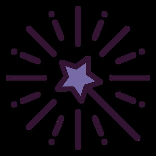 Icono de varita mágica