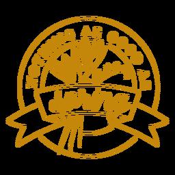 Nada tão bom quanto o emblema da primavera