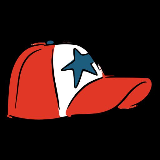 Patriotic american cap