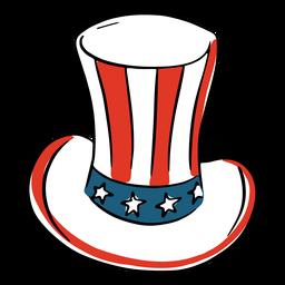 Patriotischer amerikanischer Zylinder