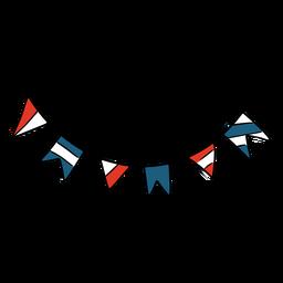 Banderines Estados Unidos