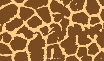 Girafa impressão vector