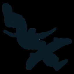 Pro skater character black