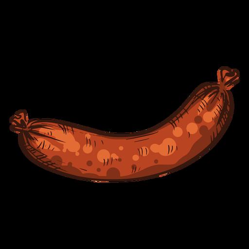 Sausage illustration