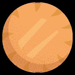 Ilustración de comida árabe shanklish