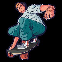 Personagem de skatista