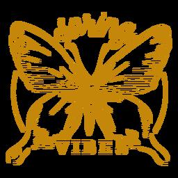 Insignia de vibraciones de primavera