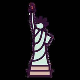 Estatua de la libertad icono estatua de la libertad