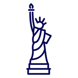 Estátua da liberdade golpe estátua da liberdade