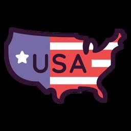 Ícone dos estados unidos da américa