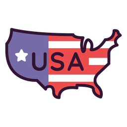 Icono de estados unidos de américa
