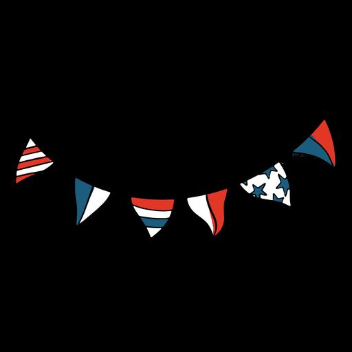 Banderines de estados unidos