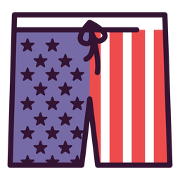 United states shorts icon
