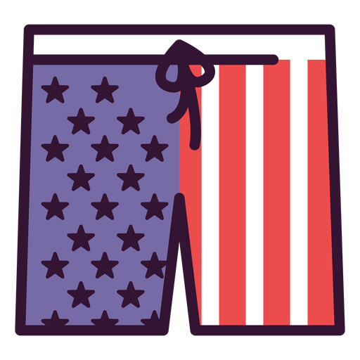 United states shorts icon