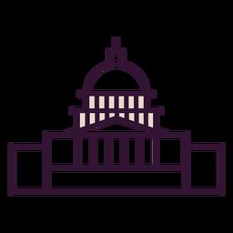 Icono del capitolio de los estados unidos
