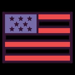 Ícone de bandeira dos Estados Unidos