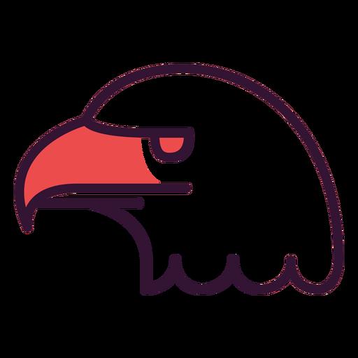 Usa bald eagle icon Transparent PNG