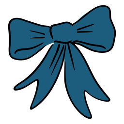 Usa blue bow