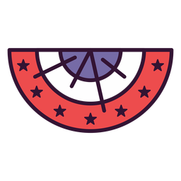 Usa cockade icon
