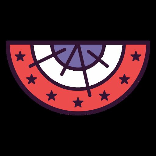Usa cockade icon Transparent PNG