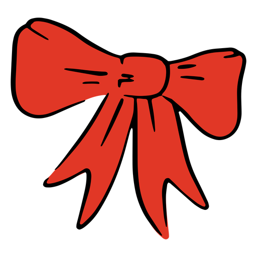 Usa red bow Transparent PNG
