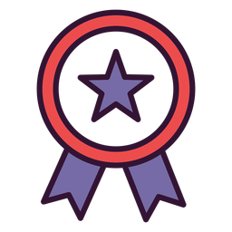 Usa ribbon icon