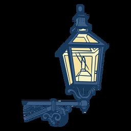 Vintage classic post lamp