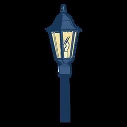 Vintage electric street lamp