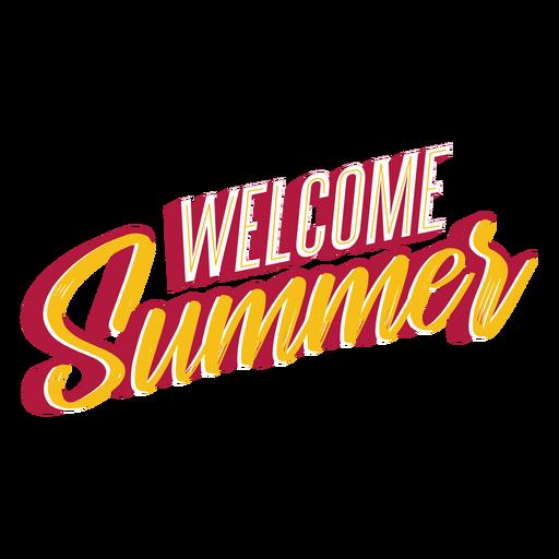 Bienvenido verano letras